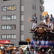 成田は祭りだー!!!!
