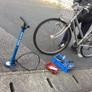 自転車修理のお話